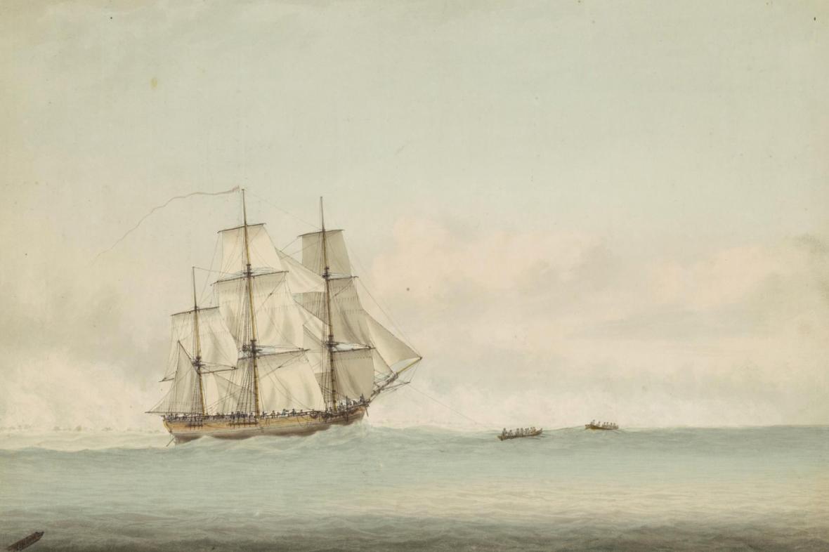 Loď Jamese Cooka Endeavour