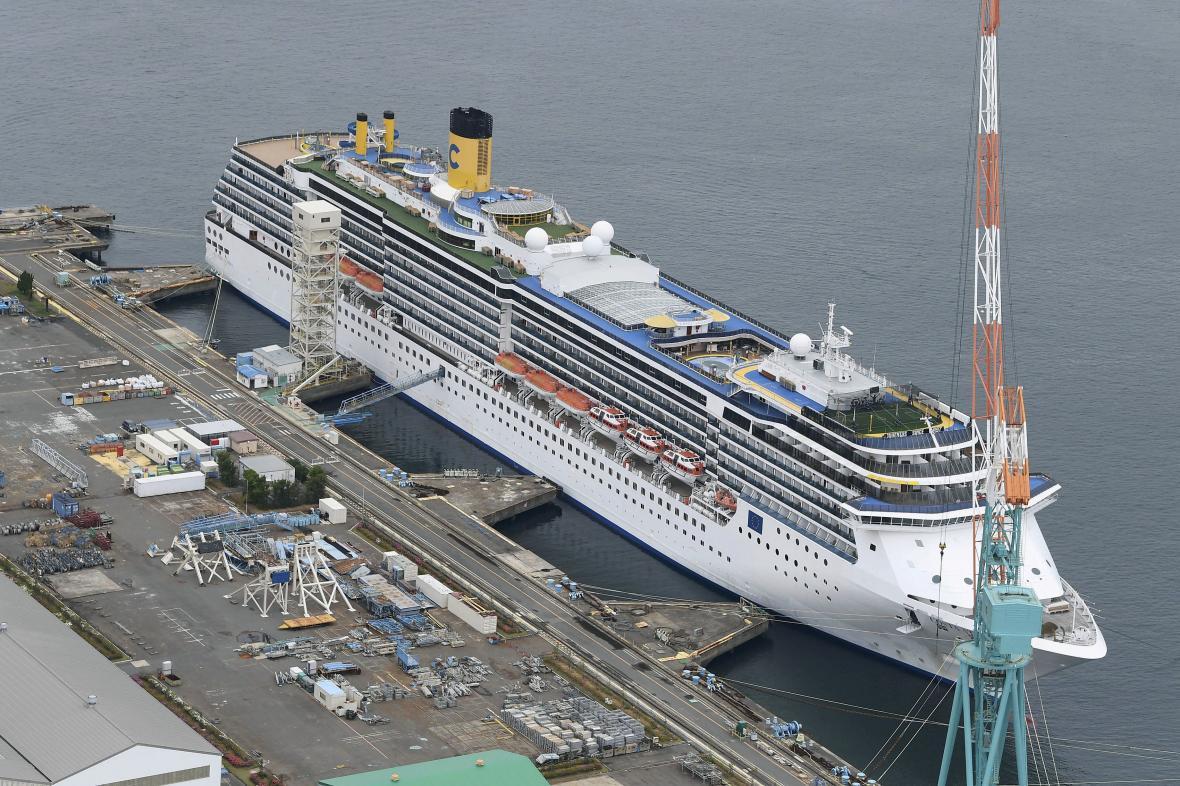 Costa Atlantica v přístavu v Nagasaki