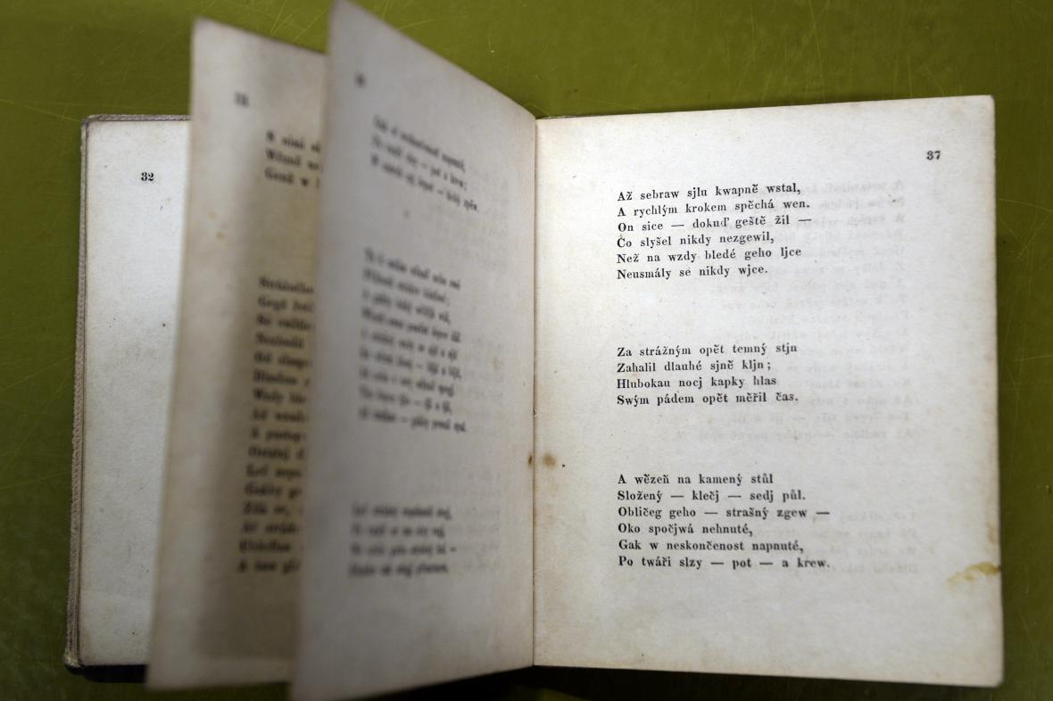Vydání Máchova Máje z roku 1836