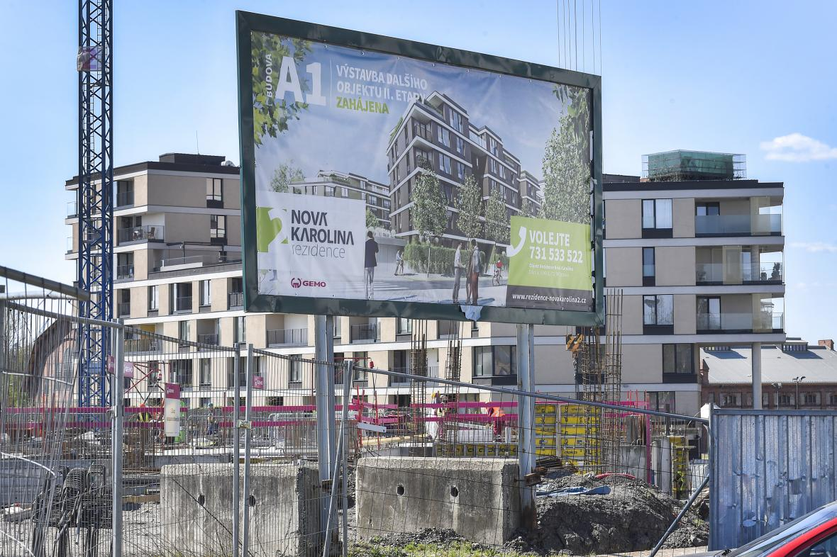 Bytová výstavba v Ostravě