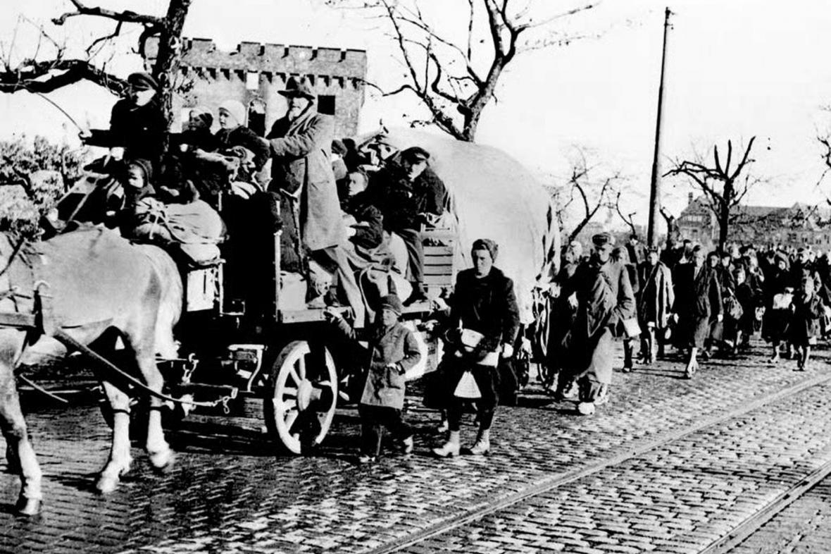 Odsun německy mluvících obyvatel z Brna