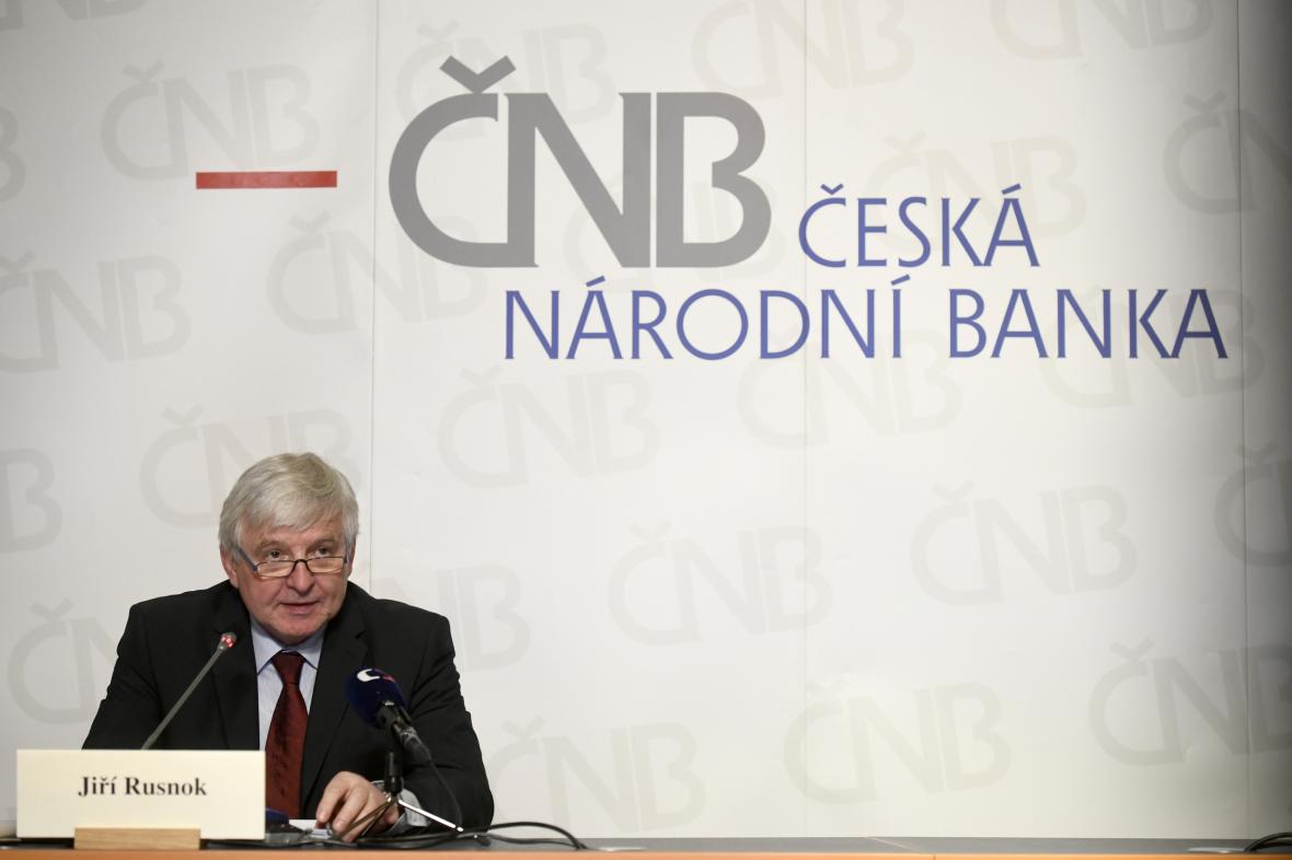 Guvernér České národní banky Jiří Rusnok