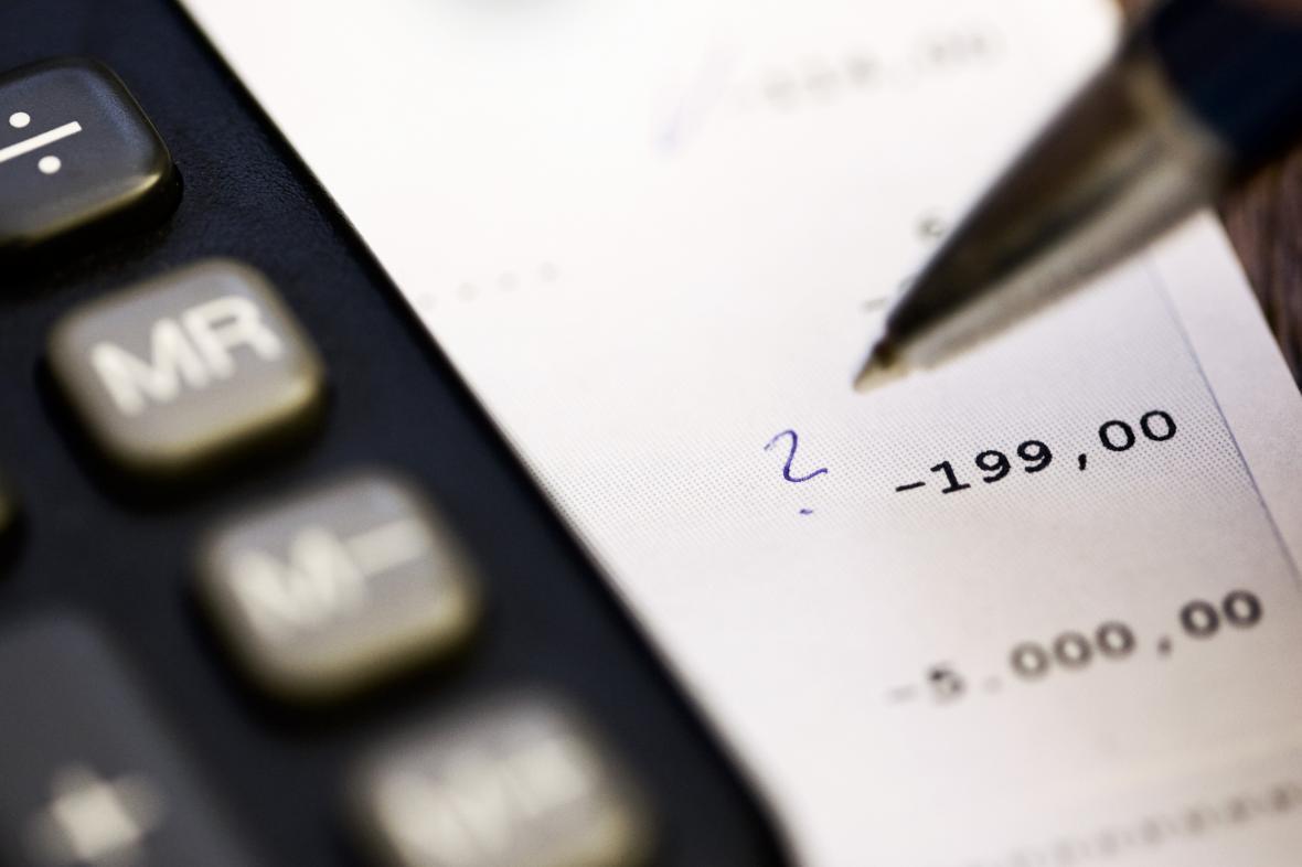 Kontrola účtu