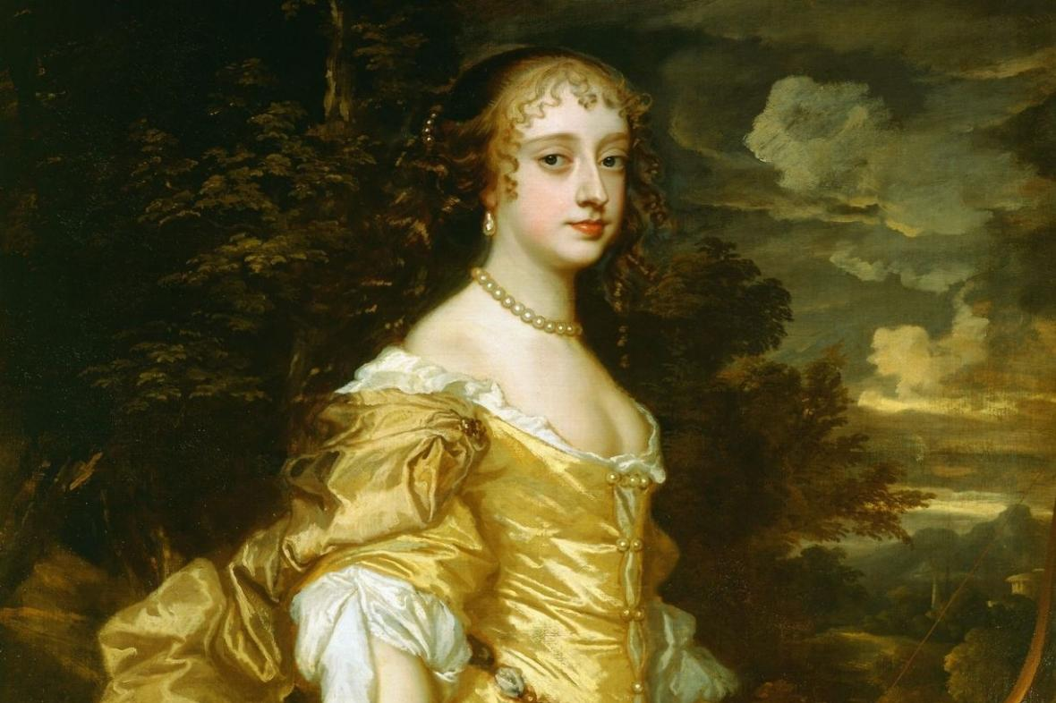 Frances Teresa Stewartová (kolem 1662)