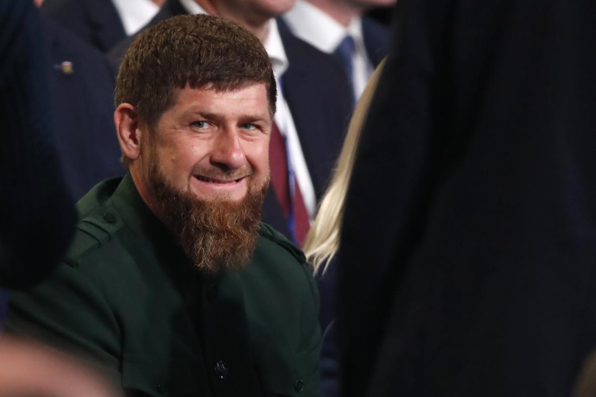Čečenský vůdce Ramzan Kadyrov
