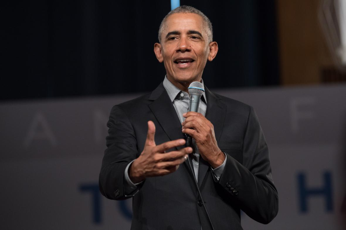 Bývalý prezident USA Barack Obama