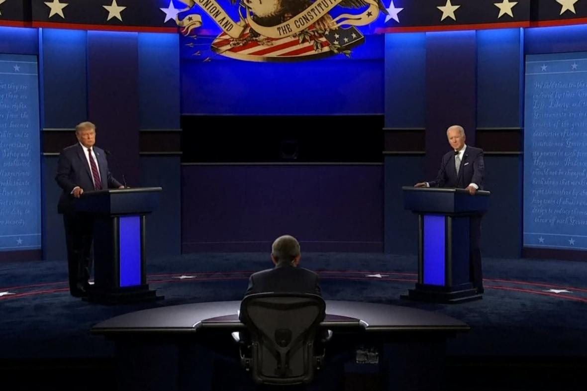Debata Biden vs Trump