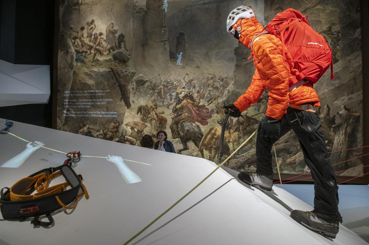 Expozice Horolezectví – z Českého ráje na vrcholy světa