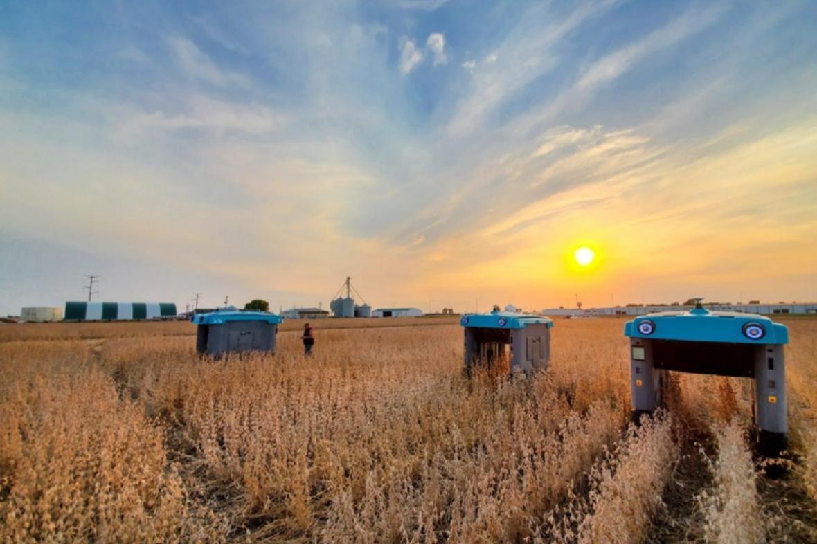 Robotické zemědělství budoucnosti