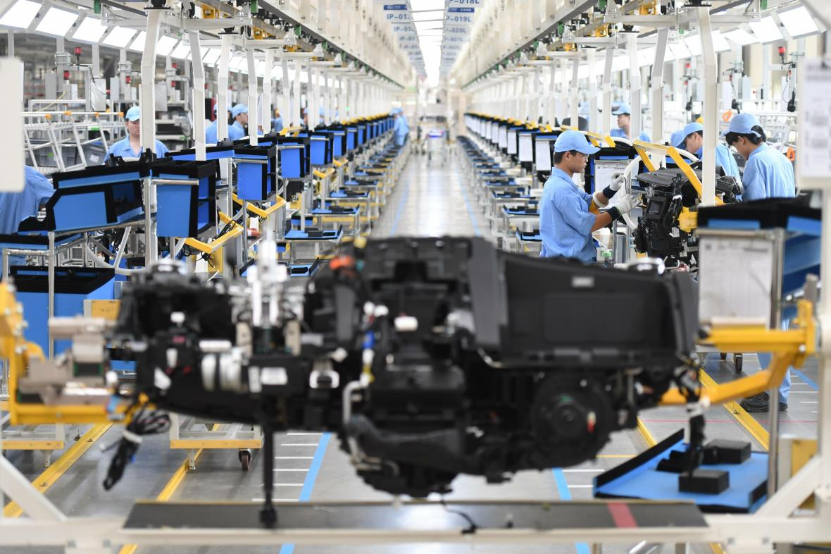 Čínský průmysl