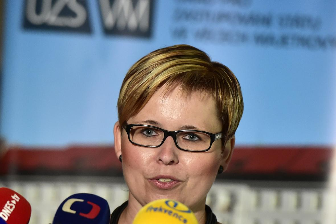 Generální ředitelka ÚZSVM Kateřina Arajmu