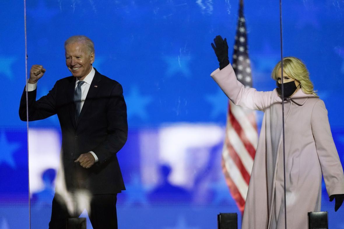 Joe Biden a Jill Bidenová