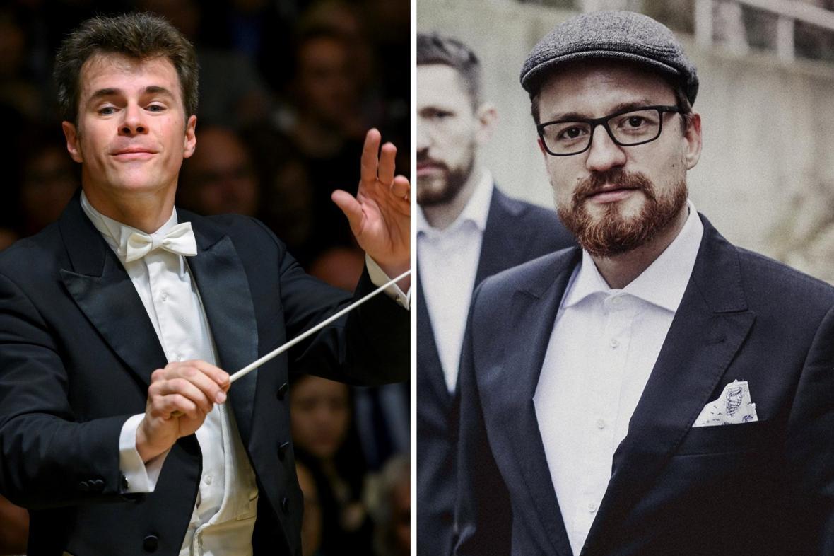 Jakub Hrůša a Ondřej Pivec