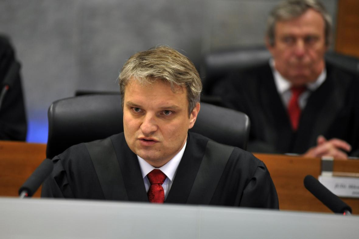 Předseda volebního senátu Tomáš Langášek