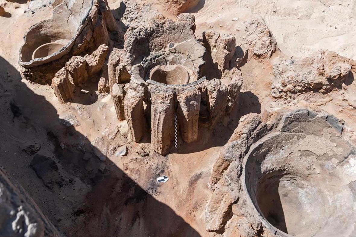 Pozůstatky egyptského pivovaru starého 5000 let