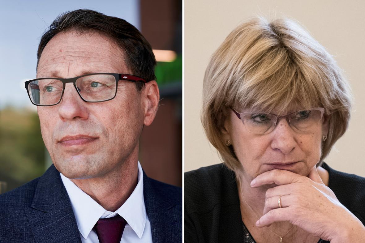 Michal Černý a Renata Schejbalová