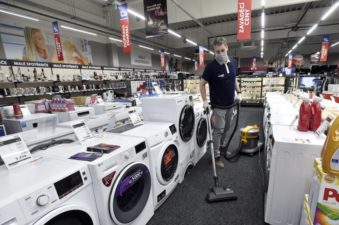 Prodejna elektrospotřebičů