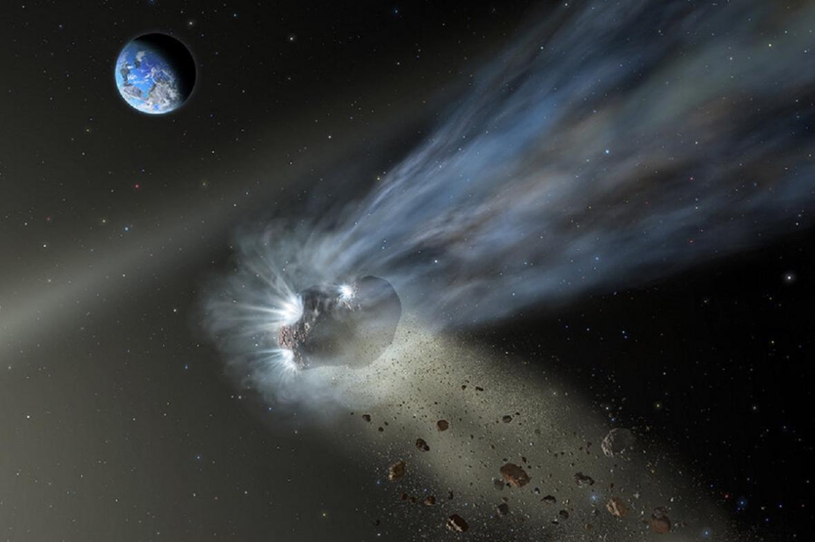 Kometa Catalina, vizualizace