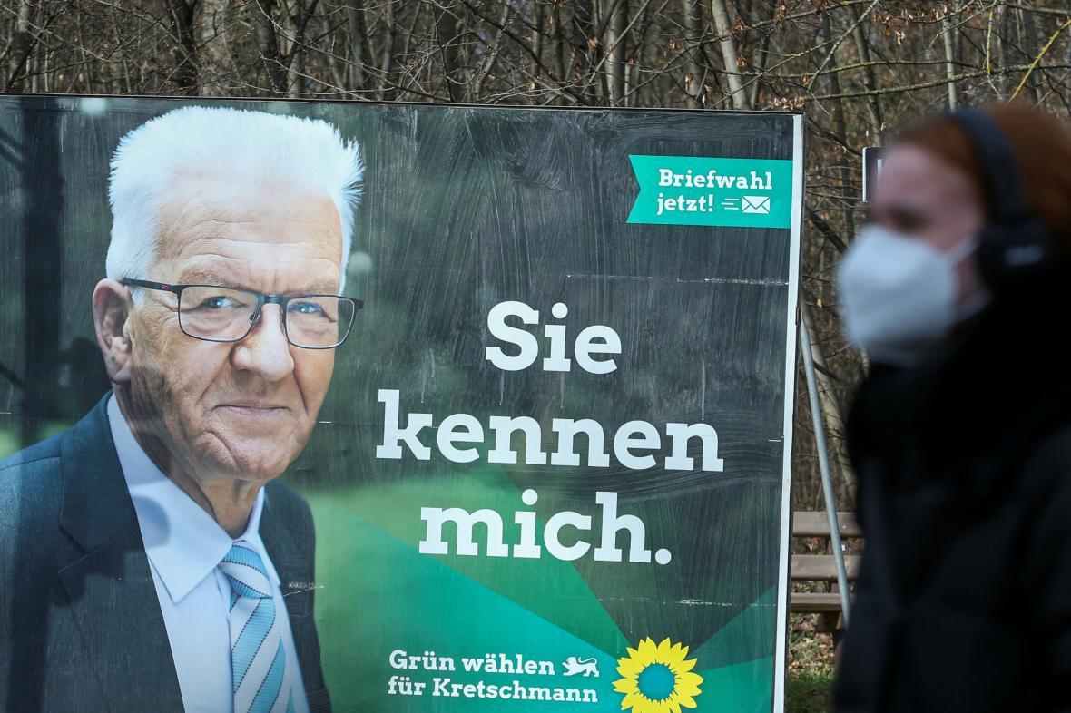 Kretschmannův předvolební plakát: Znáte mě