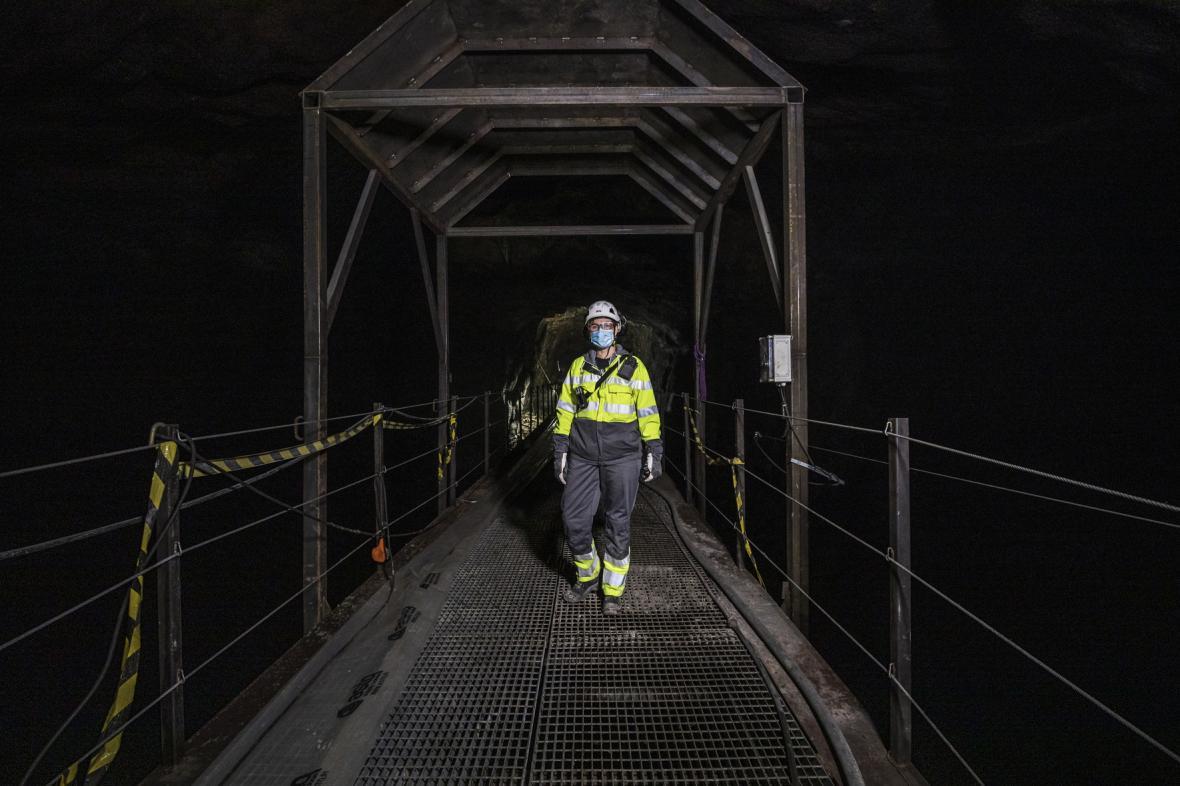 Podzemní prostory helsinské energetické společnosti Helen