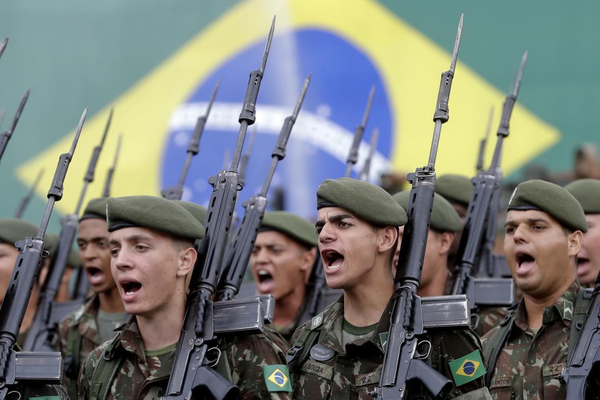 Brazilské ozbrojené složky