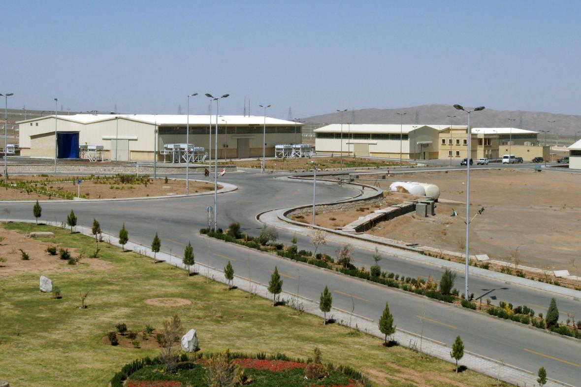 Íránské zařízení pro obohacování uranu v Natanzu
