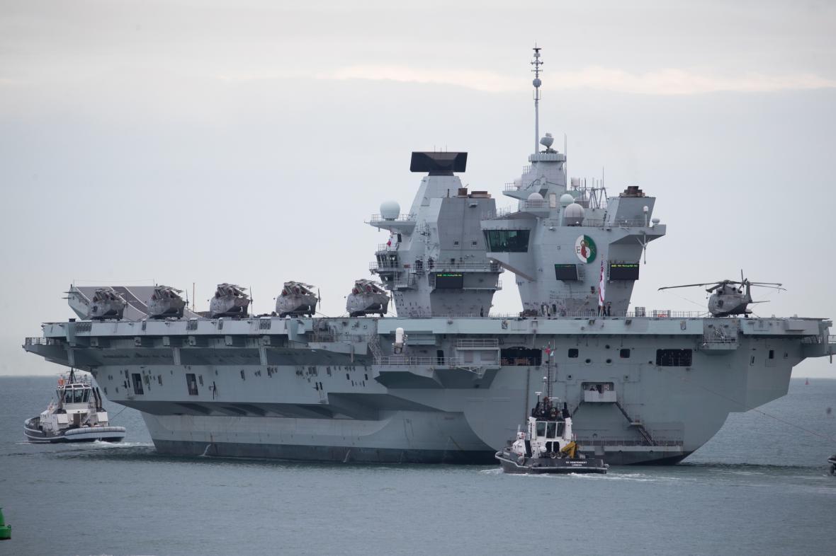HMS Queen Elizabeth, britská letadlová loď
