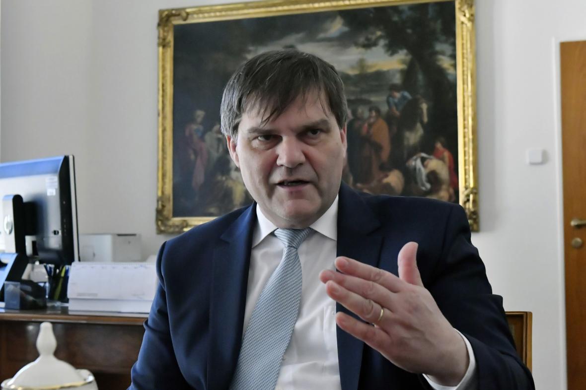 Rudolf Jindrák, ředitel zahraničního odboru Kanceláře prezidenta republiky