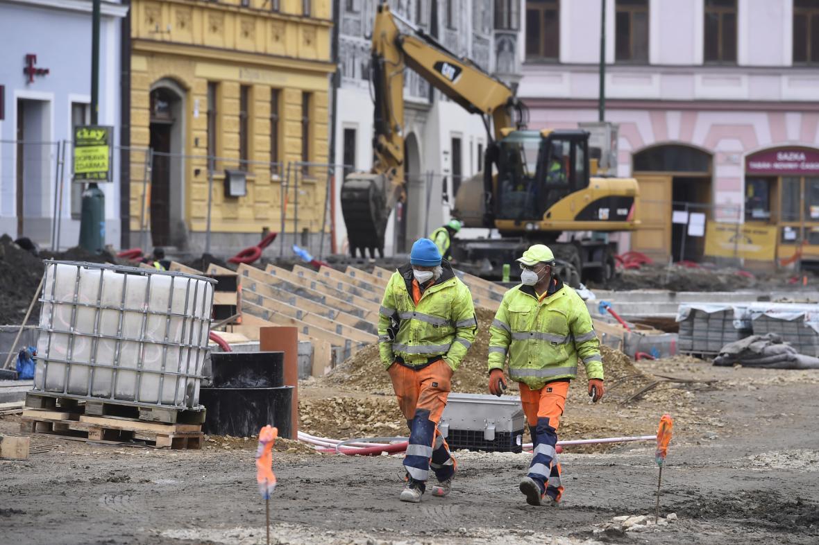 Přestavba Karlova náměstí v Třebíči