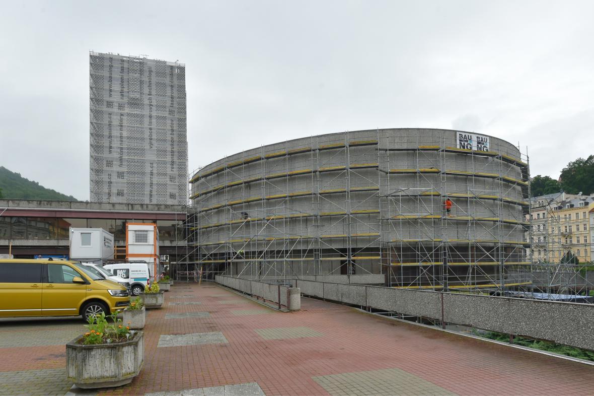 Rekonstrukce hotelu Thermal v Karlových Varech