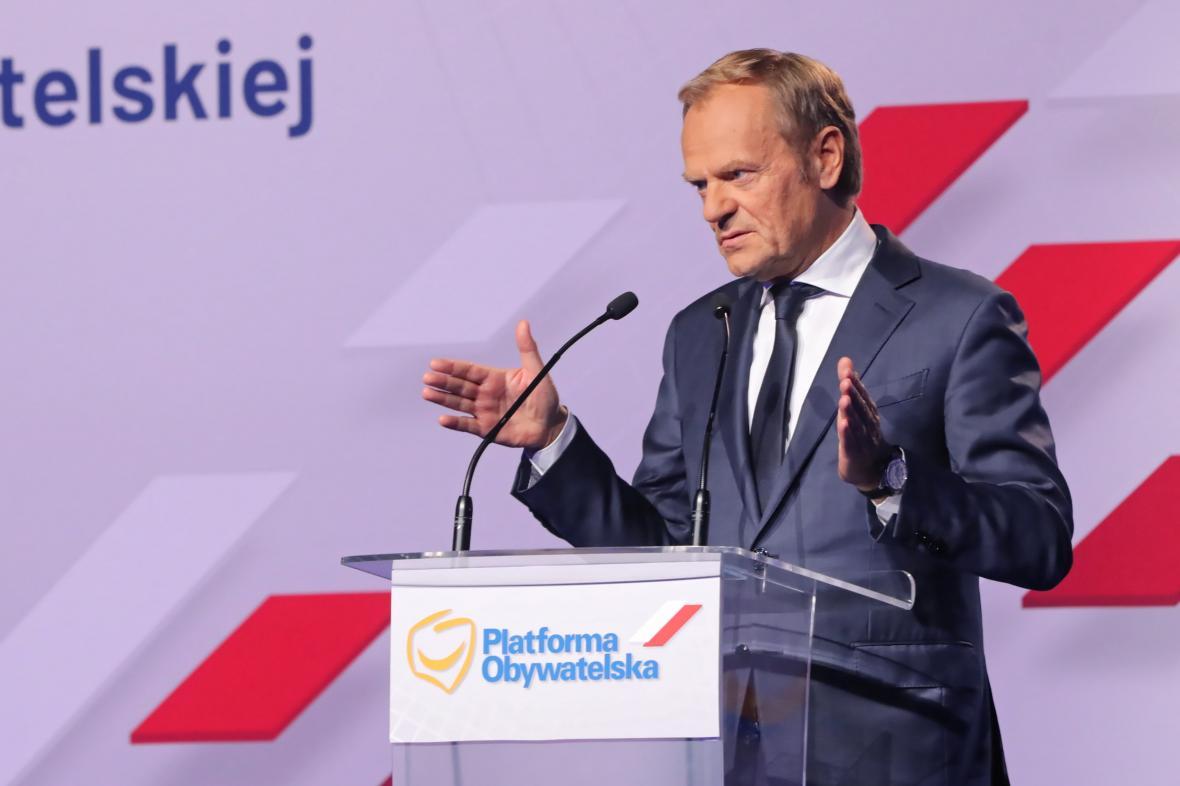 Bývalý polský premiér Donald Tusk