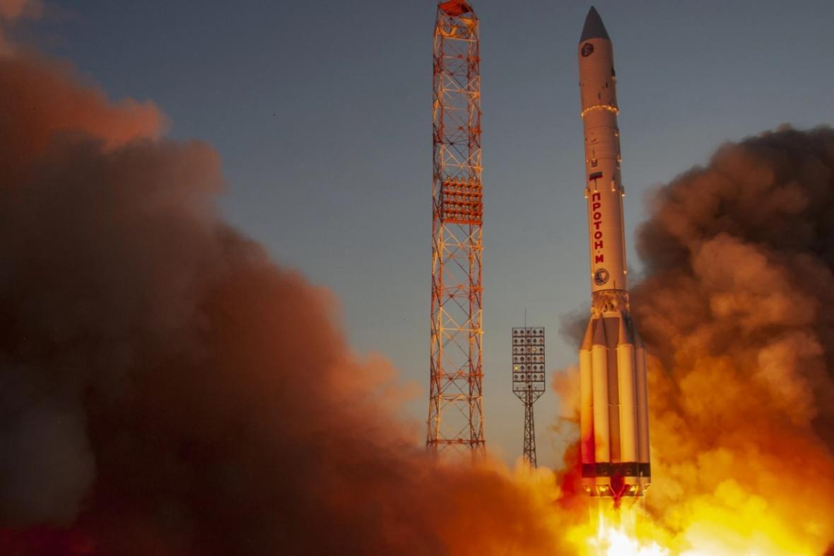 Start rakety Proton-M