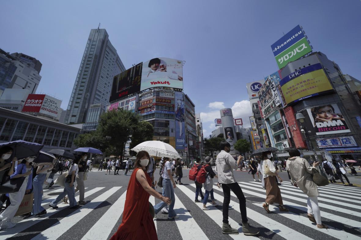 Počty nově nakažených v Japonsku stoupají