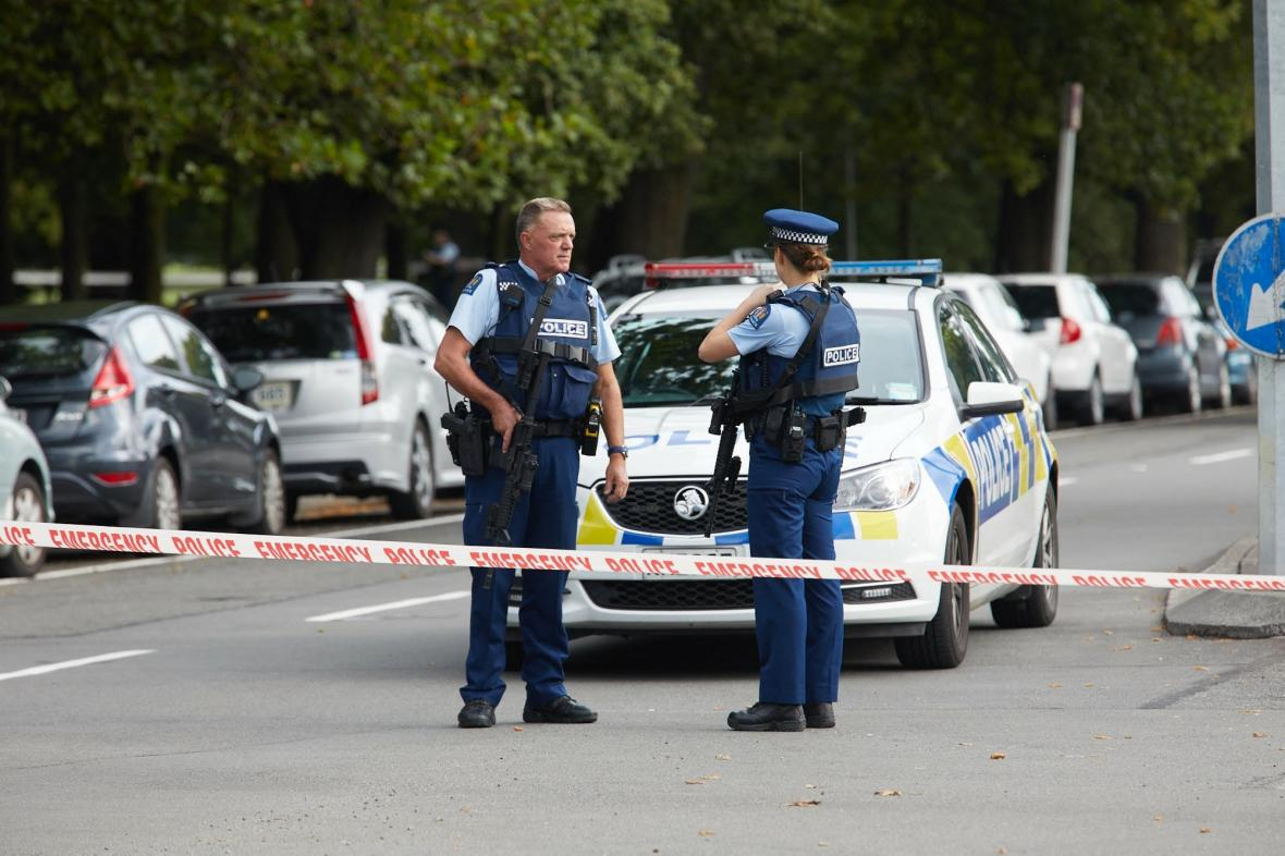 Policie na Novém Zélandu
