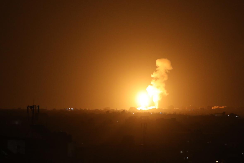 Nálety na Pásmo Gazy