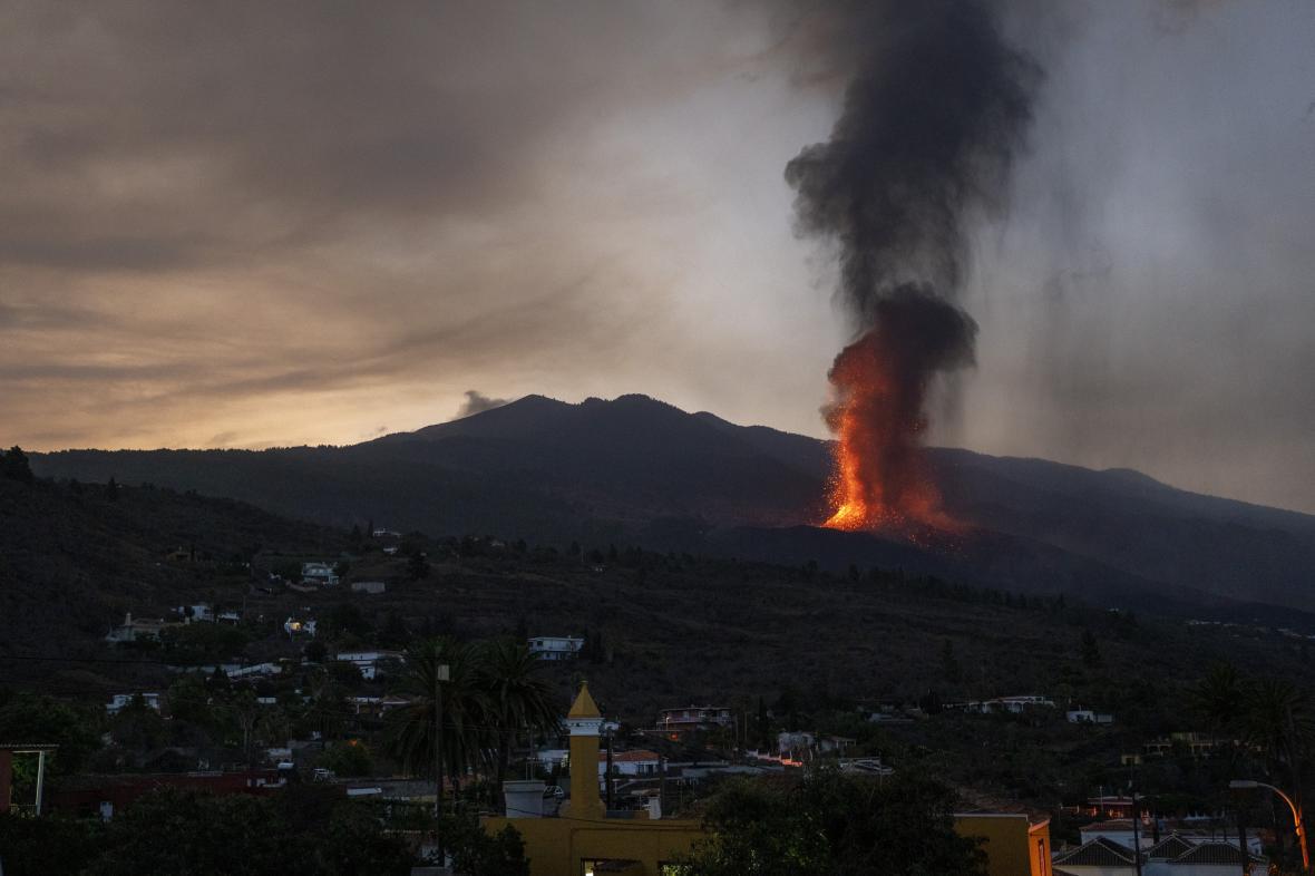 Erupce na ostrově La Palma