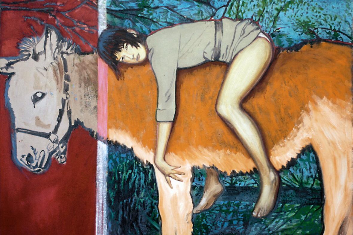 Z výstavy Libora Veselého IX
