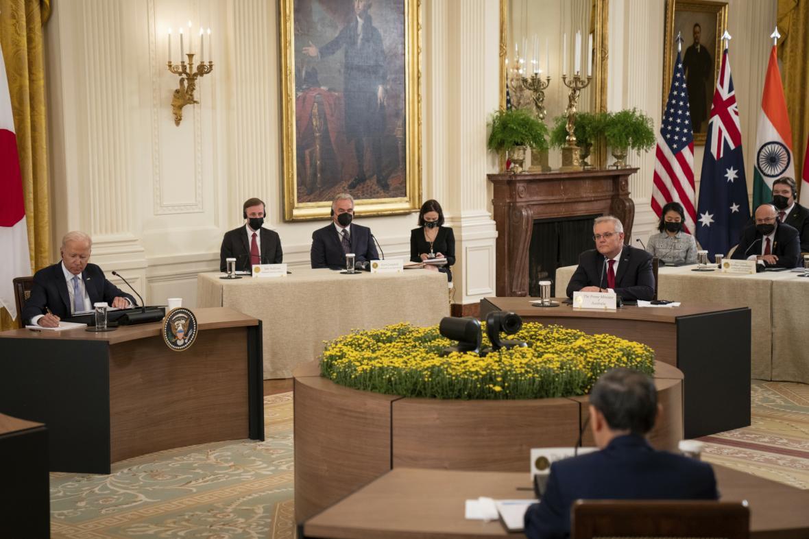 Summit vedoucích představitelů Quad