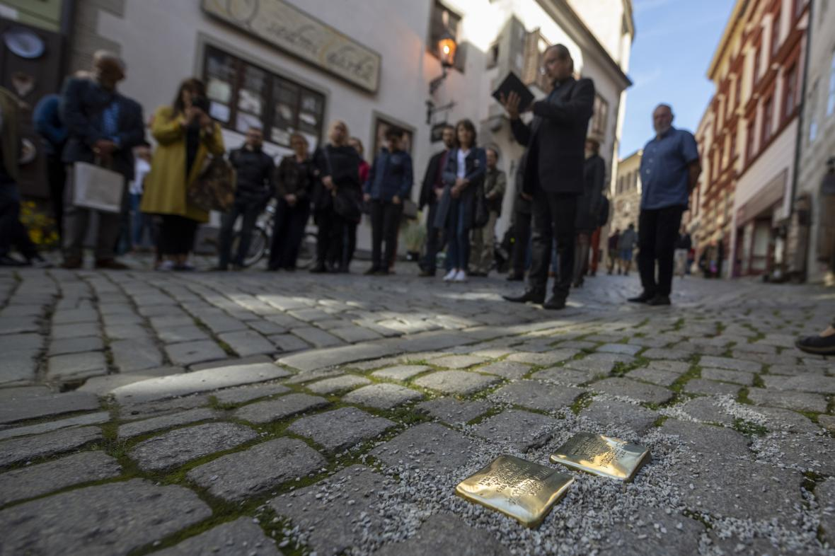 Odhalení kamenů zmizelých v Českém Krumlově