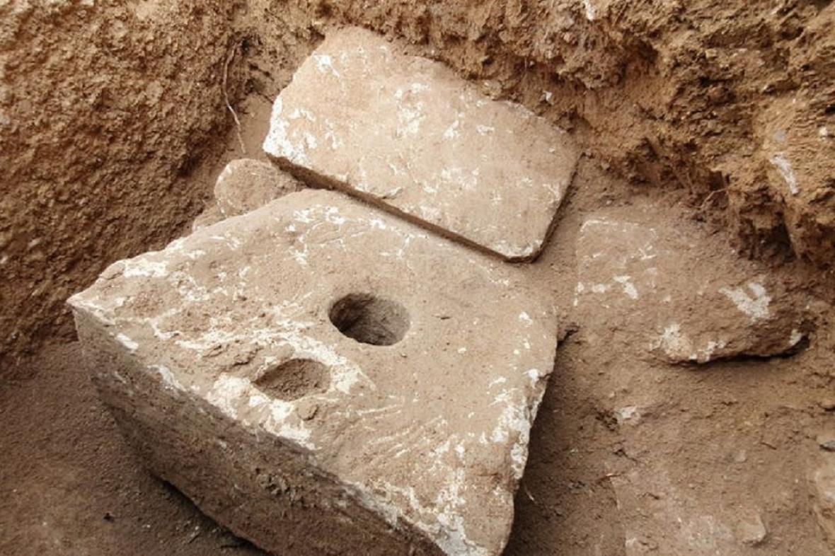 Starověká toaleta nalezená v Izraeli