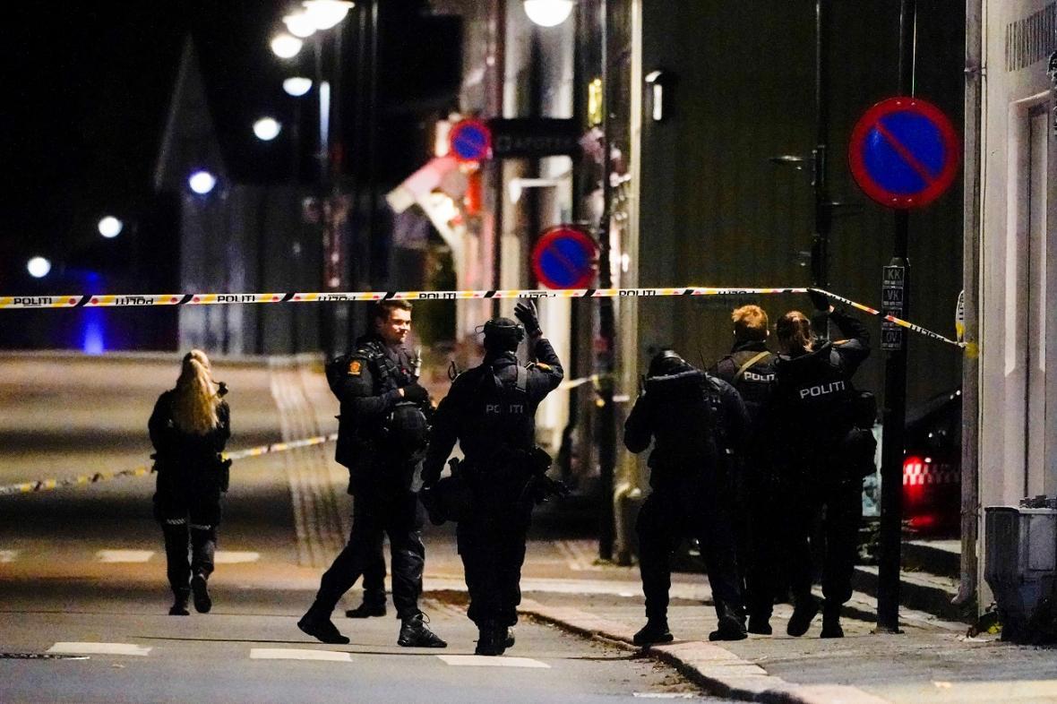 Útočník zabil v norském Kongsbergu několik lidí