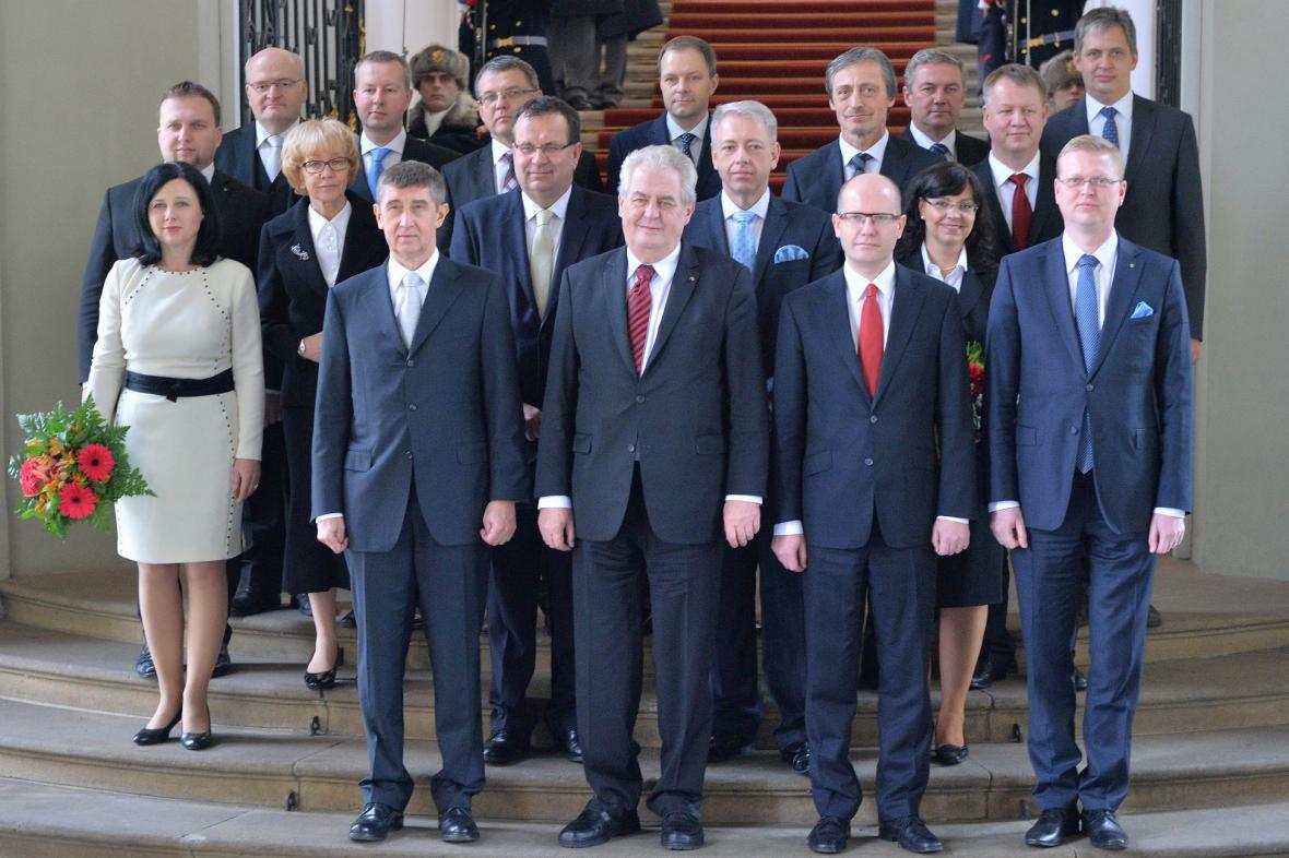 Nová vláda Bohuslava Sobotky (ČSSD)