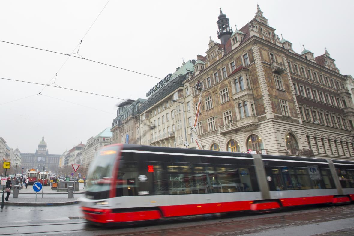 Jedoucí tramvaj