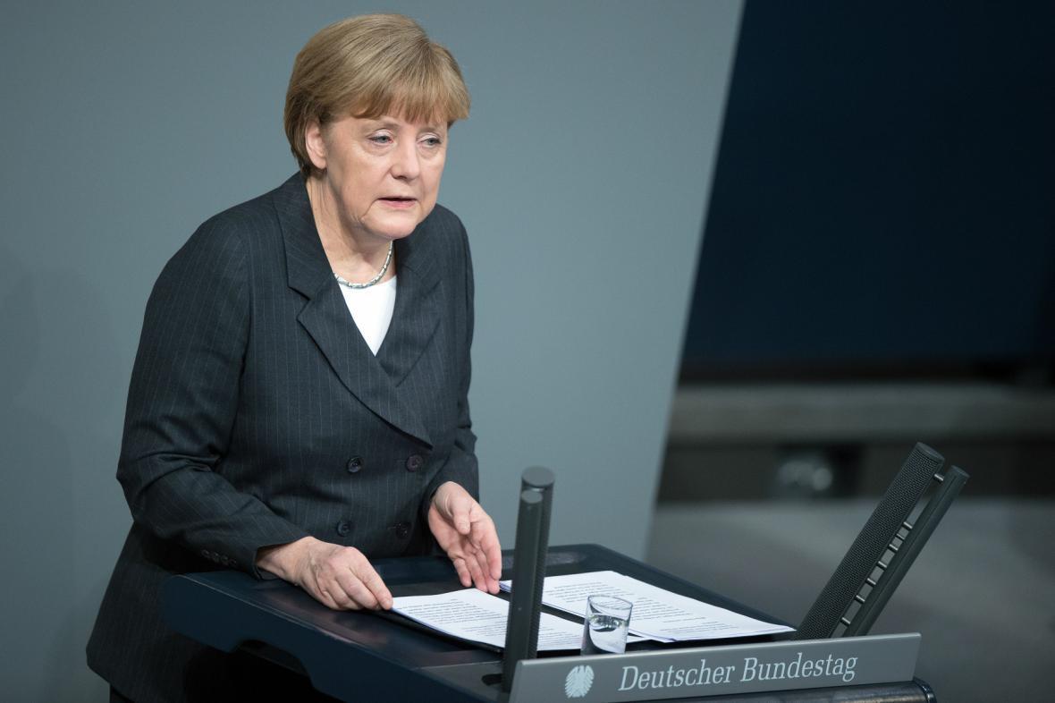 Merkelová představila nový postup SRN v boji proti terorismu