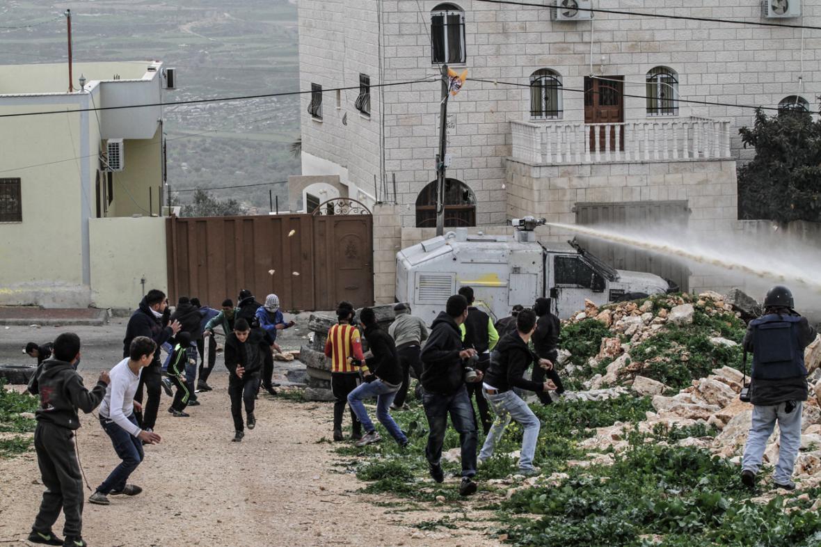 Nepokoje na Západním břehu