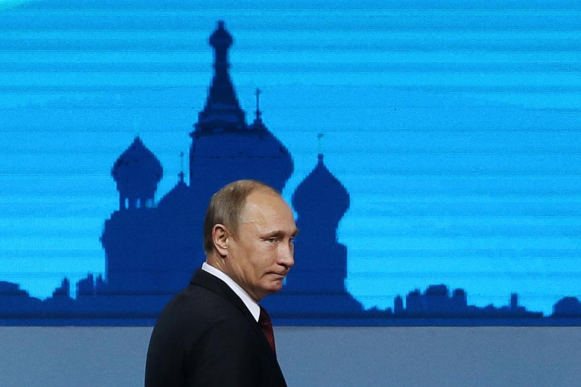 Vladimír Putin na summitu APEC