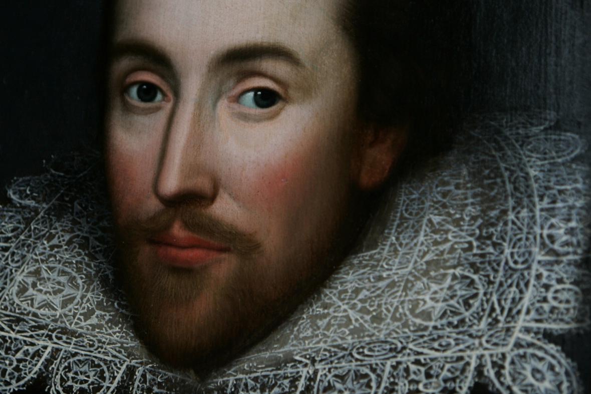Portrét Williama Shakespeara