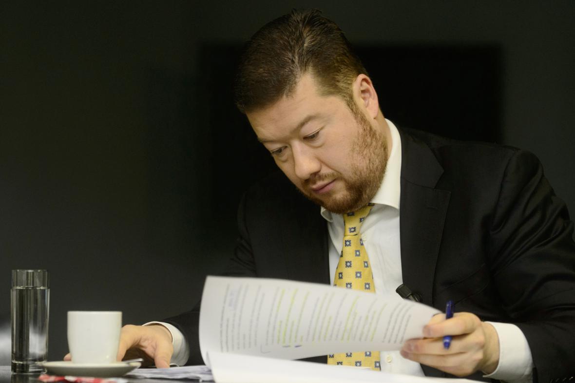 Tomio Okamura, předseda hnutí Úsvit