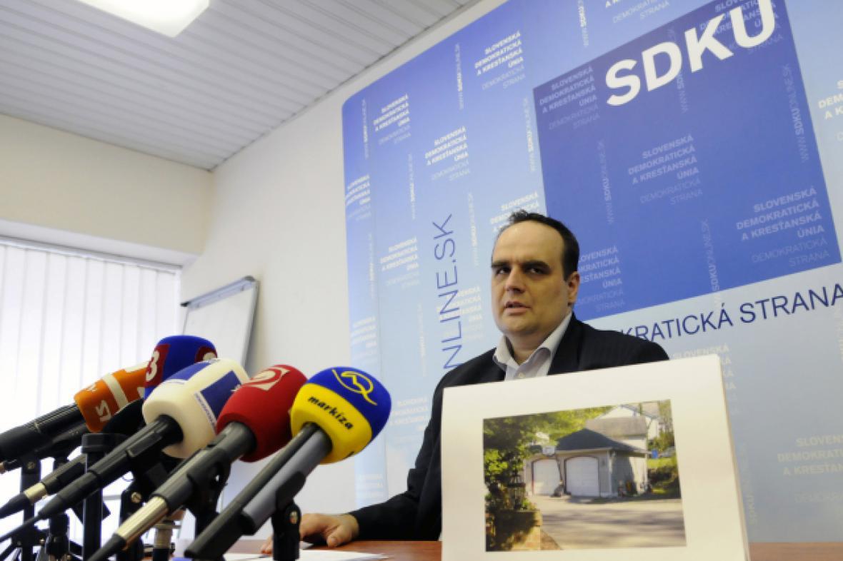 Pavol Frešo, předseda SDKÚ