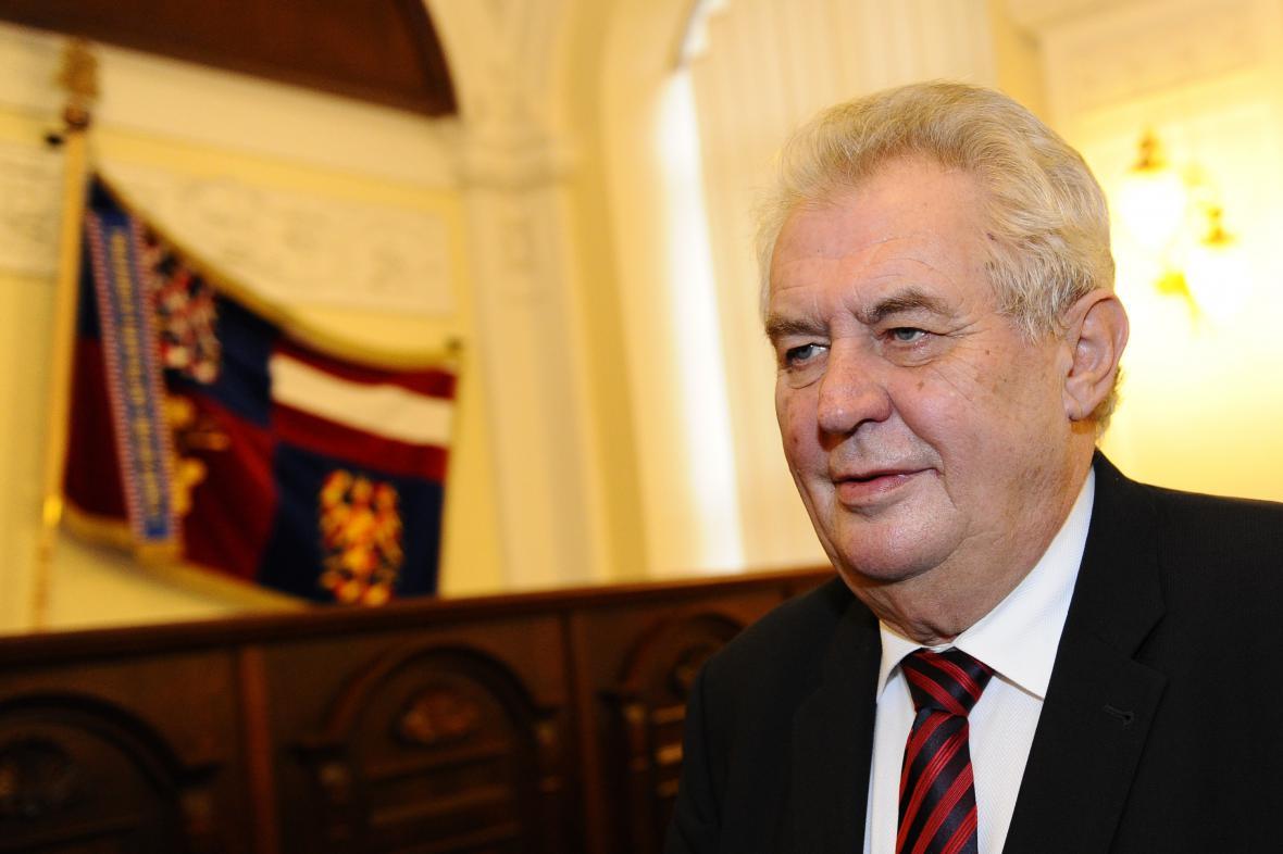 Miloš Zeman na návštěvě Jihomoravského kraje